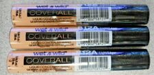 Lot Of 3 Wet N Wild Coverall Liquid Concealer 812A Light 0.24oz Each *Imperfect*