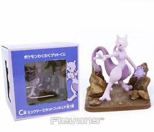 """POKE MONSTER/ FIGURA MEWTWO 11 CM - ANIME FIGURE DA COLLEZIONE 4,3"""" BOX"""