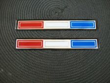NEW 1968 Plymouth Sport Fury Plastic Fender Medallion Red White Blue
