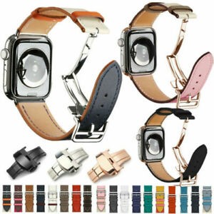 Genuine Leather Strap Single Tour Band For Apple Watch iWatch Series 6/5/4/3/2/1