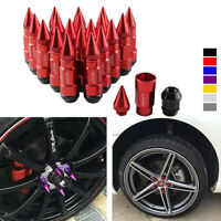 20Pcs Anti Theft Spiked Extended Tuner 80mm Lug Nut Wheels Rims M12X1.25/1.5