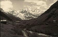 Ferleiten Austria Salzburg ~ 1900 panorama Alpi vertice VECCHIA FOTO VERA-AK Gürtler