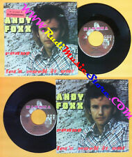 LP 45 7'' ANDY FOXX Venus Let's work it out 1975 italy CATOCA 7011 no cd mc dvd