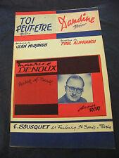 Partition Toi Peut essere Mirando Barcollava Aliprandi Maurice Denoux Music