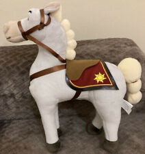 Disney Rapunzel  Horse Maximus Tangled Plush Soft Toy With Sounds