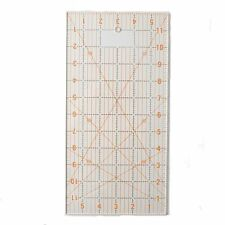 "DAFA Transparent Patchwork & Quilting Ruler 6"" x 12"" Inch"