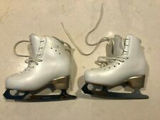 Edea Overture Ice Skates with fitted blade - Size 210 - White