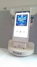 8 pin to 30 pin adapter for Sony RDP-M17iP speaker dock Ipod Touch 6th gen white