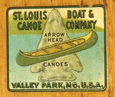 Classic Collectors Canoe St Louis Boat and Canoe Co.