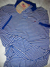 Polo Ralph Lauren Weathered Pique Cotton Shirt-Rl Usa Embroidered Flag-Nice!-Xl