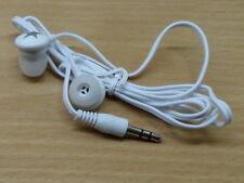 BIANCO/SILVER Auricolari In-Ear Cuffie per musica MP3, iPod, 3.5mm