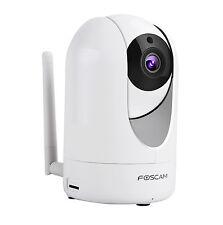 Foscam R2 - Telecamera Wi-Fi Full HD 1080p, Motorizzata PTZ, MicroSD, EzLink P2P