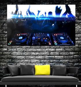 PIONEER POSTER DJ DECKS CDJ S GIANT Wall Art POSTER PRINT ART in ONE PIECE