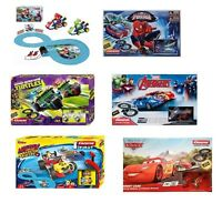 Disney / Film Superhero Characters Carrera Scalextric Track Toy Box Sets