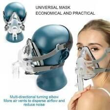 New Nasal Face Oral-Nasal Mask With Headgear CPAP Sleep + Snore Mask Respirator
