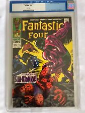 Fantastic Four #76 CGC (old label) 9.0 Very Fine/ Near Mint White Pages 7/68