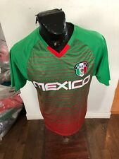 MENS Large Icon Sports Soccer Football Futbol Jersey Mexico