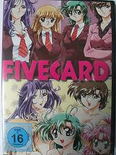 Fivecard - Erotik Manga - An dieser Uni geht's hoch her - 5 Mädchen und Lehrerin
