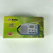 Kaito KA-208 Super Mini Size AM/FM Radio with LCD Digital Display
