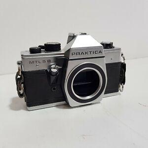 Praktica MTL5B 35mm SLR Film Camera Body Only UNTESTED