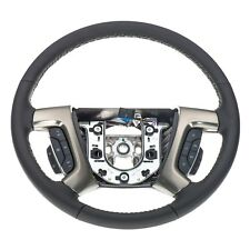 OEM NEW Multifunction Steering Wheel Ebony 2008 Hummer H2 25849064