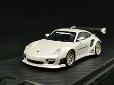 New 1:64 PC Club Model Liberty Walk LB Porsche 911 997 Pearl White