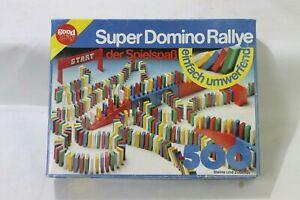 Super Domino Rallye - Quelle / Good Play Altes Vintage Spielzeug Steine 90er