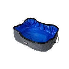 Foldable Cat Litter Box Travel Kitty Toilet Seat Tray Free Travel Blue