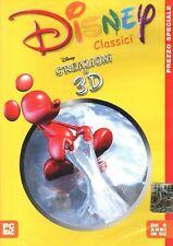 Disney - Creazioni In 3D PC CD-Rom
