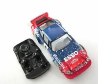 Lexan rally 911 Carrera compatible Scalextric no incluye carroceria Mustang Slot