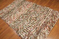 5' x 8' Handmade 100% wool area rug modern 5x8