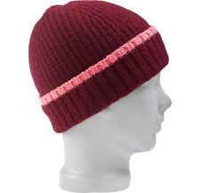 Women's Burton Mignon Beanie Ski Snow Winter Snowboard Wool Hat Sangria Red