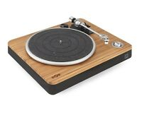 House of Marley Stir It Up Turntable Record Player Built in Amp USB