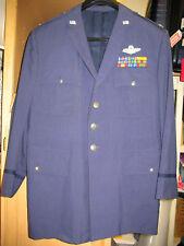 L@@K!  Vietnam War Megaton Blasters USAF Full Colonel's Blue Class A Uniform