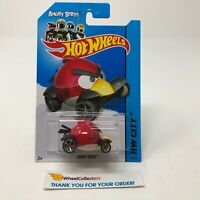 Angry Birds #82 * RED * 2014 Hot Wheels * Q27
