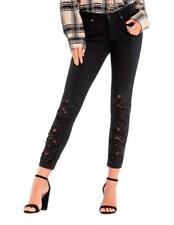 MISS ME SIZE 26 STRIKE A POSE MID-RISE ANKLE SKINNY JEANS M2008AK
