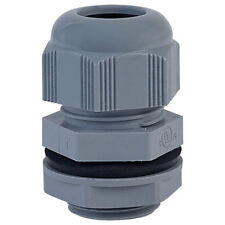 """Alpha Wire PNC3/4 SL080 NPT 3/4"""" Slate IP68 Dome Cable Gland Pck of 10"""