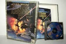STAR WARS REBEL ASSAULT II THE HIDDEN EMPIRE USATO PCCDROM ITA BIG BOX GD1 40442