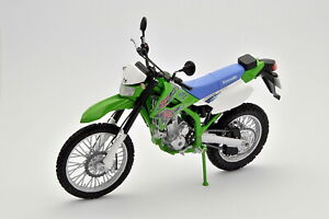 Kawasaki KLX250 1/12 Off Road Bike Assembled Painted Finished Model With Stand