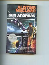 SAN ANDREAS,  Alistair MacLean,    1st US SB VG