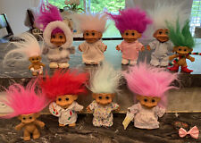 Vintage Troll Dolls Lot Of 10 Russ Nice!