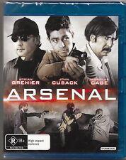 Arsenal (Blu-ray, 2017) New (Adrian Grenier,John Cusack) Region B Free Post