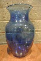 Glass Cobalt Blue Vase