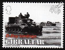 WWII D-Day GOLD BEACH-Armée Britannique CROMWELL Mk. IV Tank & Landing Craft STAMP