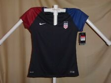 TEAM USA Soccer NIKE Dri-Fit  2016 JERSEY Womens Large size 12-14 NWT $90 retail