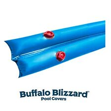Buffalo Blizzard 18 GA 1 x 8 Water Tubes For Swimming Pool Winter Covers - 12 PK