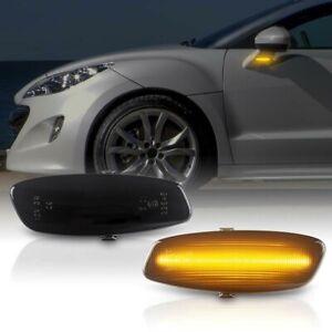 LED Indicators for Peugeot 207, 308 I, 408, 3008, 5008, RCZ Black