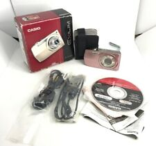 CASIO digital camera EXILIM Z2300 Gold EX-Boxed,Charger,Cables,All Accs-MINT