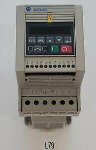 Allen-Bradley 160-BA06NPS1 Series C Preset Speed Controller FRN 7.06 + Warranty!