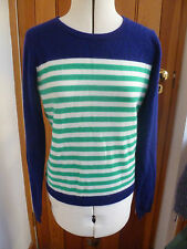 Cashmere Long Sleeve Striped Jumpers & Cardigans for Women